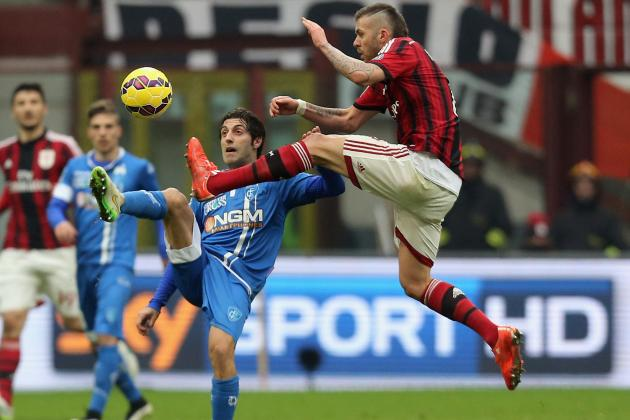 Емполи vs Милан 26.11.2016